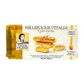 Matilde Vicenzi Iced puff pastry sticks 125g