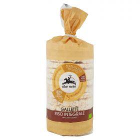 Alce Nero Organic whole grain rice crackers 100g