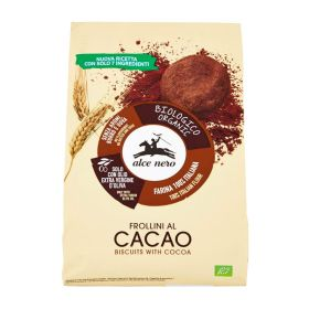 Alce Nero Organic cocoa biscuits 350g
