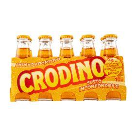 Campari Crodino non-returnable glass bottles 10x10cl