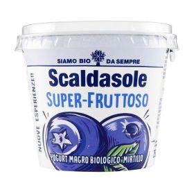 Scaldasole Organic low-fat blueberry yoghurt 250g