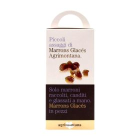 Agrimontana Candied chestnuts 160g