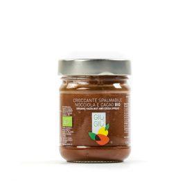 giù giù crema nocciola e cacao bio biologica prezzemolo e vitale