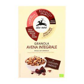 Alce Nero Organic granola with chocolate and almonds 300g