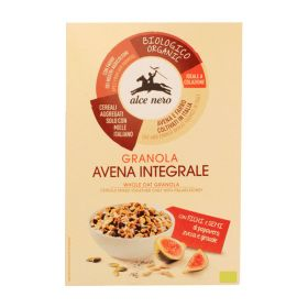 Alce Nero Organic granola with figs and poppy pumpkin and sunflower seeds 300g