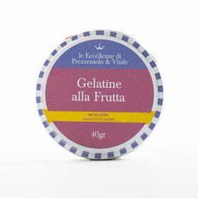Le Eccellenze di Prezzemolo & Vitale Gelatine alla frutta senza glutine gr. 40