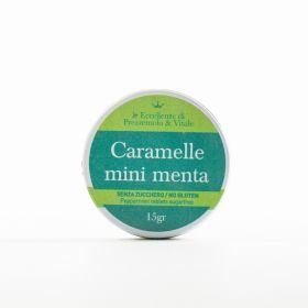Le Eccellenze di Prezzemolo & Vitale Caramelle mini alla menta senza zucchero gr. 15