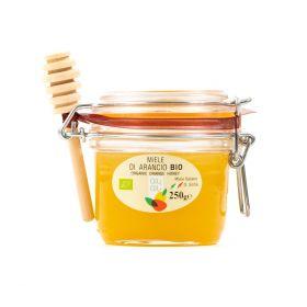 Giù Giù Orange blossom honey + spoon