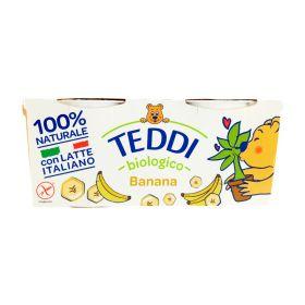 Scaldasole Teddi Banana yogurt 2x115g