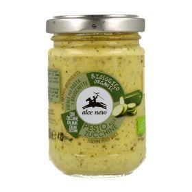 Alce Nero Organic courgette pesto 130g