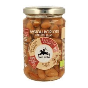 Alce Nero Organic boiled borlotti beans 300g