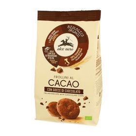 Alce Nero Organic cocoa biscuits with chocolate chips 300g