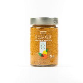giù giù patè olive olive verdi mandorle gr. 200 prezzemolo e vitale