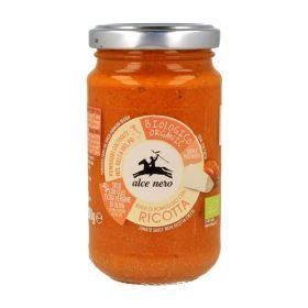 Alce Nero Organic tomato and ricotta sauce 200g