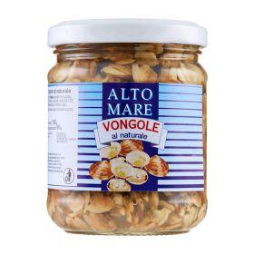 Altomare Natural clams 130g