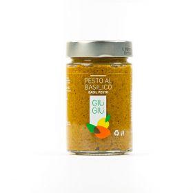 giù giù pesto basilico gr. 200 sicilia siciliano prezzemolo e vitale