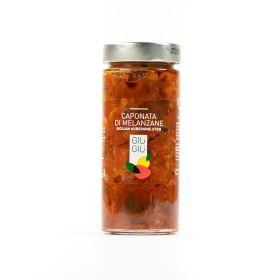 giù giù caponata melanzane siciliano sicilia prezzemolo e vitale