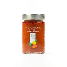 giù giù patè pomodoro secco gr. 200 sicilia siciliano prezzemolo e vitale