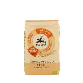 "Alce Nero Organic type ""0"" soft wheat flour 1kg"