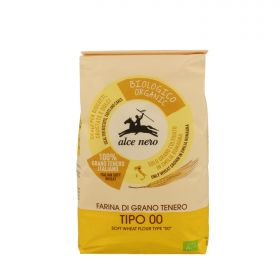 "Alce Nero Organic type ""00"" soft wheat flour 1kg"