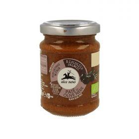 Alce Nero Organic black olive patè 130g